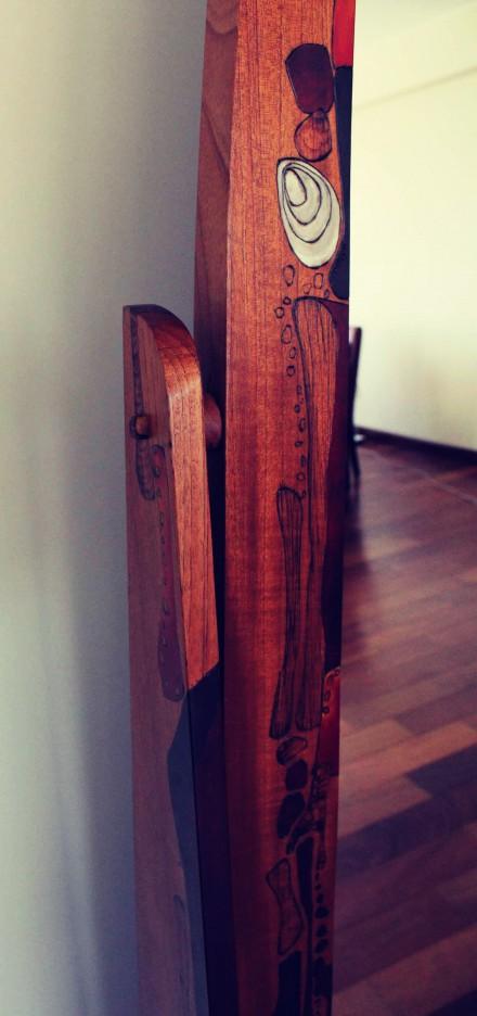 Cedar Wood Mirror